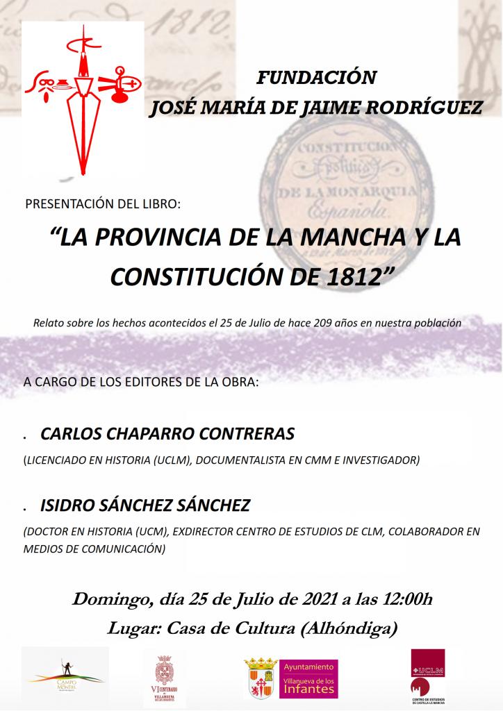 Publicación La Mancha y la Constitución de 1812