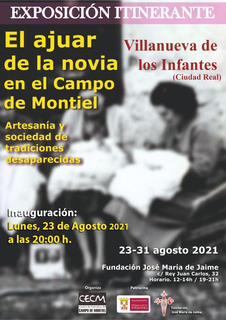 """EXPOSICION ITINERANTE: """"EL AJUAR DE LA NOVIA EN EL CAMPO DE MONTIEL"""", Artesanía y sociedad de tradiciones desaparecidas."""